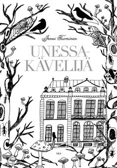UNESSAKÄVELIJÄ - SLEEPWALKER Colouring book Unessakävelijä (Finnish for Sleepwalker) is released on 9th of February 2016. Jenni's first book is a gothic dreamlike adventure. It is published by Kustantamo S&S (Shildts & Söderströms).