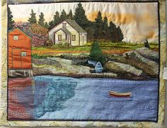 Laurie Swim - Invitational Show at Quilt Canada | photo by Barbara Robson