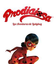 logo de prodigiosa, las aventuras de ladybug