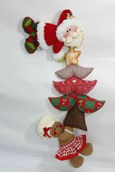 Christmas Wall Hangings, Felt Christmas Decorations, Diy Christmas Ornaments, Christmas Angels, Christmas Stockings, Holiday Decor, 242, Christmas Paintings, Felt Diy