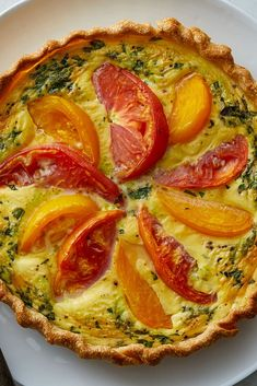 Heirloom Tomato Tart Recipe - NYT Cooking