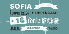 Sofia Rough - Webfont & Desktop font « MyFonts