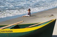 Caninana #Edu #Thomé #weewado #Canoe #beach #sea #caiçara #sand #child