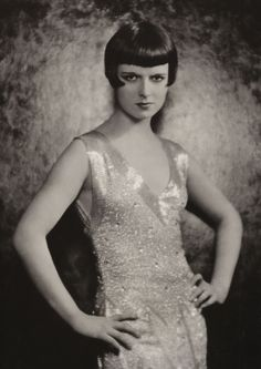 Portrait of Louise Brooks by Eugene Robert Richee, 1920's