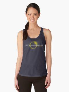 Total Solar Eclipse August 21 2017  Women's Tank Tops