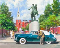 The automotive art of Harry Anderson (1906-1996)