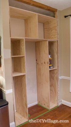 Kitchen Pantry by: theDIYvillage.com