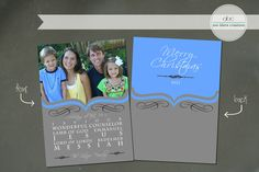 Custom Christmas Card Messiah by annblairecreations on Etsy, $17.00