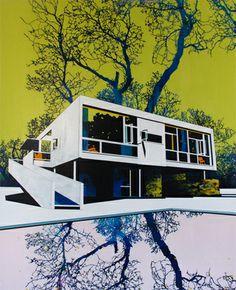 Paul Davies - Seidler, Tree and Pool