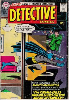 Detective Comics 344  October 1965 Issue  DC Comics by ViewObscura