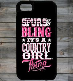 Country Girl ® Bling Thing iPhone 5 Phone Case/Cover