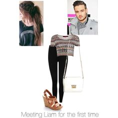 Untitled #16 by kaylee-schroeder on Polyvore featuring polyvore, fashion, style, Boohoo, M&Co, Jessica Simpson and Payne