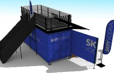 Shipping Container Modification | Popshopolis