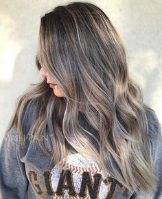 Brown Hair With Gray Highlights