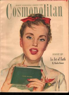 Cosmopolitan magazine, AUGUST 1946 Artist: Coby Whitmore