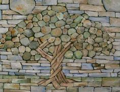 Welcome to the diy garden page dear DIY lovers. If your interest in diy garden projects, you'are in the right place. Creating an inviting outdoor space is a good idea and there are many DIY projects everyone can do easily. Pebble Mosaic, Stone Mosaic, Mosaic Wall, Pebble Art, Mosaic Glass, Rock Mosaic, Tile Mosaics, Mosaic Pots, Mosaic Diy