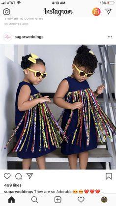 African girls dress girls African fashion tassle dress for girls baby girl dress kids dress African dress for girls kids African clothing - - Baby African Clothes, African Dresses For Kids, African Girl, Latest African Fashion Dresses, African Print Dresses, Girls Dresses, African Outfits, Dress Fashion, African Prints