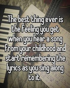 True #quote #quotes #quotestoliveby #quoteoftheday #instaquotes #instagramquote #instagramquotes #truth #truthquotes #music #musiclife #childhood #memory #childhoodmemories #memories #quotetags