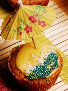 Aloha Cupcakes   Rezept auf Gemischte Tüte Glück