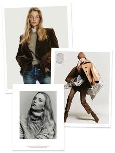 My fav looks from September Vogue Germany's best-of-fall story. Silk Midi Dress, What Next, Slingback Sandal, Penny Loafers, Winter Wardrobe, Preston, Calf Leather, Wool Blend, Color Pop