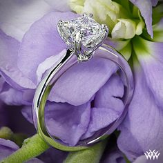 Sierra Solitaire Engagement Ring with a 1.008ct A CUT ABOVE Princess