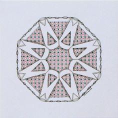 Awareness Zendala - Tinker Tangles
