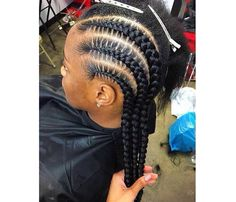 T͞͞h͞͞e͞͞G͞͞o͞͞d͞͞d͞͞e͞͞s͞͞s͞͞ Long Curly Hair, Curly Hair Styles, Natural Hair Styles, Black Girl Braids, Girls Braids, Girl Hairstyles, Braided Hairstyles, Black Hairstyles, Braided Ponytail