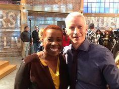 Iyanla Vanzant & Anderson Cooper