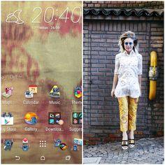 Medusa una delle figlie di Marta Marzotto HTC One Themes #mfw