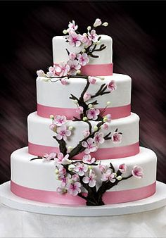 Bridal Cakes by Ann.   Absolutely beautiful!