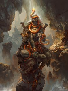 Turiel, Angel of the Mountain by PeteMohrbacher.deviantart.com on @DeviantArt