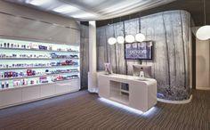 Okhoon - Des ronds dans l'eau - design commercial - nouveau concept store pour institut de beauté spa