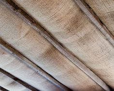 Using Burlap to Cover Ceiling | burlap ceiling