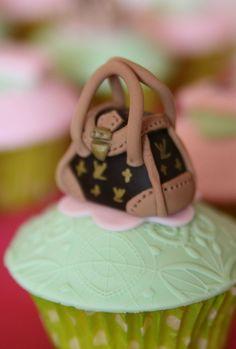 Louis Vuitton handbag cupcake