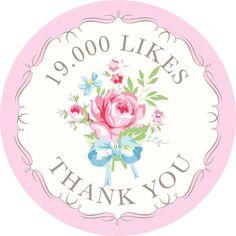 19000 likes