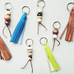 Forks on the Right : DIY: Keychain Stocking Stuffers Diy Keychain, Keychains, Forks, Stocking Stuffers, Foodies, Crafts For Kids, Stockings, Drop Earrings, Business Ideas