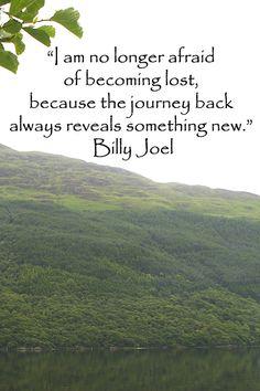 """I am no longer afraid of becoming lost . . . "" – Billy Joel -- Image of Scotland's BEN LOMOND by J.McGinn"