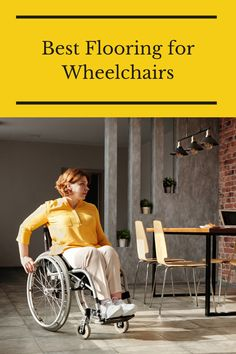 Are you wheelchair-bound and want floors that can handle your way of moving? Then, check out this guide about the best flooring for wheelchairs. Flooring 101, Best Flooring, Floors, Wheelchairs, Assisted Living, Helping People, Handle, Check, Home Tiles
