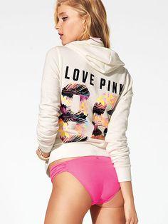 Perfect Zip Hoodie PINK