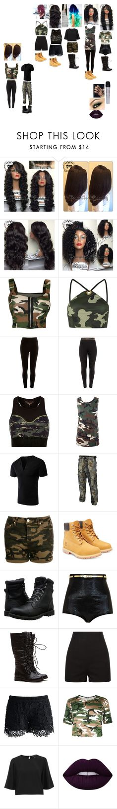 """""""the guardian angels camo wear with dancers"""" by the-guardian-angels on Polyvore featuring Garcia, Audio-Technica, WearAll, Topshop, River Island, Sans Souci, True Timber, Boohoo, Timberland and Chicwish"""