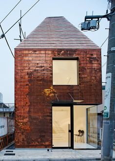 copper + white + black--Fujitsubo Beauty Parlor by Archivision Hirotani Studio / Tokyo, Japan
