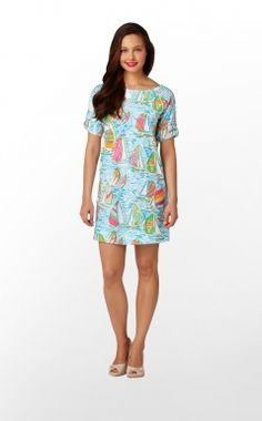 One of my new Lilly Dresses! LOVE!!!  Lilly Pulitzer Camie Dress in You Gotta Regatta $108.00