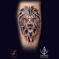 Line Work Lion Simple Line Tattoo, Line Tattoos, Simple Lines, Design Art, Lion, Design Inspiration, Leo, Lions