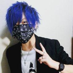 WEBSTA @ yozakun - オフショット詳細は最新動画をチェック🐧#青髪 #マニックパニック #manicpanic  #haircolor  #hairstyle #bluehair #japan #セルフ #ヘアカラー #派手髪 #Youtube #雪我屋 Spring, Youtube, Instagram, Youtube Movies