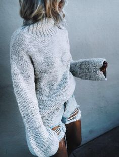 suki knit sweater //pinterest: juliabarefoot