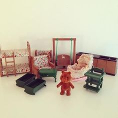 Image of Mobilier Sylvanian Petits Malins Vintage