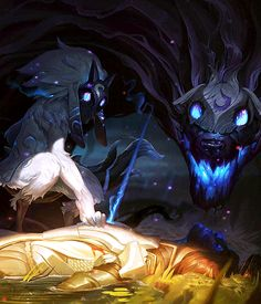 Lamb, tell me a story…Kindred - The Eternal Hunters
