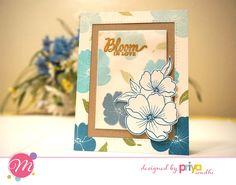 Mudra Craft Stamps: Botanical Blooms