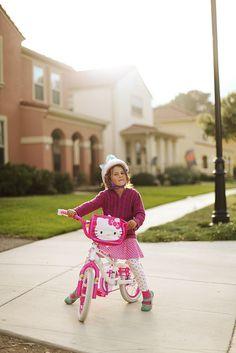 child photography, bicycle, ©Misty Exnicios