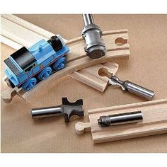 so i can make wooden train tracks for the kids